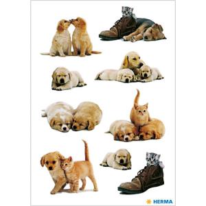 Herma 5606 DECOR Sticker - Hundewelpen - 27 Sticker