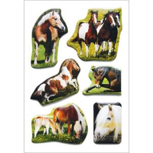 Herma 6197 DECOR Sticker - Pferde - Lackpuffy
