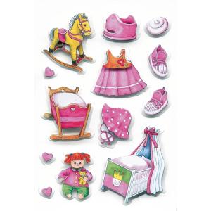 Herma 6207 DECOR Sticker - Mädchen - 3 Blatt