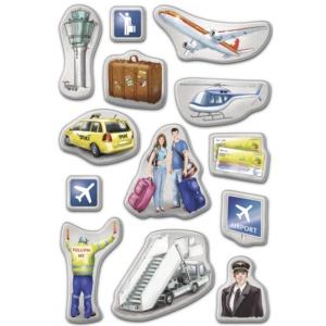 Herma 6348 DECOR Sticker - Flughafen - Puffy