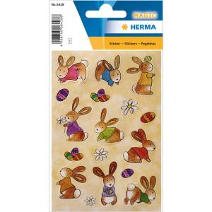 Herma 6428 MAGIC Sticker - Babyhäschen - Seide - 17...