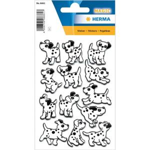 Herma 6661 MAGIC Sticker - Dalmatiner - Foam - 13 Sticker