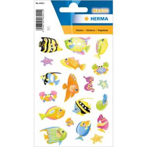 Herma 6921 MAGIC Sticker - Fische - 19 Sticker