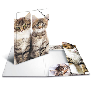 Herma 7143 Sammelmappe - DIN A3 - Katzen