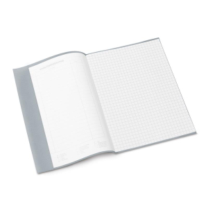 Herma 7428 Heftschoner - DIN A5 - gedeckt - grau