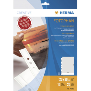 Herma 7589 Fotosichthüllen - Fotophan - 200 x 300 mm...