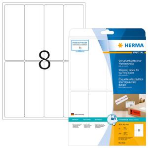 Herma 8326 SPECIAL Versand- und Warnetiketten - DIN A4 -...