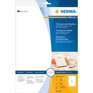 Herma 8964 SPECIAL Inkjet Folienetiketten - DIN A4 - 210...