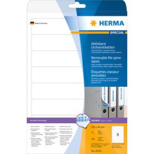 Herma 10150 SPECIAL Ordneretiketten - DIN A4 - 192 x 34...