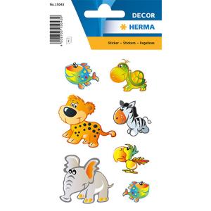 Herma 15043 DECOR Sticker - Tierkinder - 21 Sticker