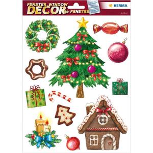 Herma 15114 Fensterbilder - Weihnachtszeit - 12 Sticker