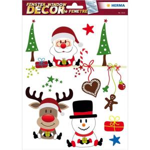 Herma 15115 Fensterbilder - Weihnachtsfreude - 5 Sticker