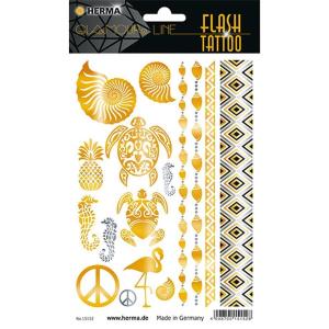 Herma 15152 FLASH TATTOO Sticker - Caribbeam