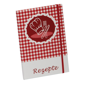 Pagna Rezeptnotizbuch A5 Kochmütze 192 Seiten kariert