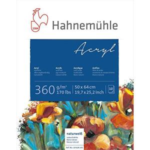 Hahnemühle Acrylmalblock - 360 g/m² - 50 x 64...