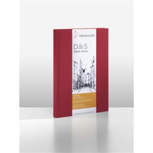 Hahnemühle Skizzenbuch D&S - 140 g/m² - rot...