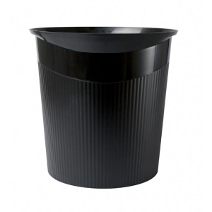 Papierkorb HAN LOOP, schwarz 13 Liter