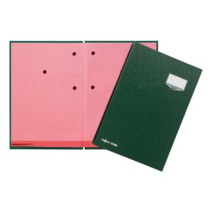 Unterschriftenm. De Luxe 20-teilig grün
