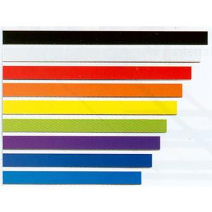 FRANKEN Magnetband 10mm x 100cm, 1mm, gelb