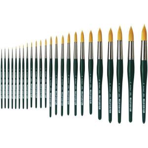 da Vinci Nova Aquarellpinsel goldfarbene Synthetikf.  Gr:...