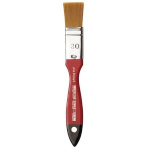 da Vinci Cosmotop Breite Pinsel rot-schwarzlack. Stiele...