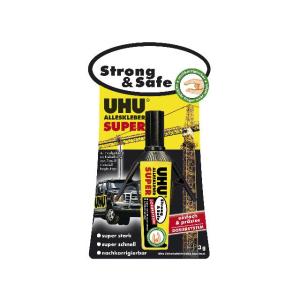 UHU ALLESKLEBER SUPER Strong & Safe DOSIERSYSTEM, 3 g