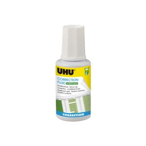 UHU CORRRECTION FLUID waterbased, 20 ml, weiß