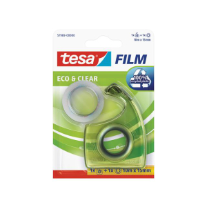 tesa tesafilm Eco & Clear - 10 m x 15 mm - inkl. Easy...