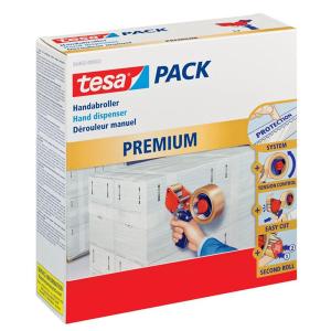 tesa tesapack Handabroller Premium - leer für Rollen...