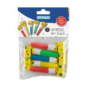 Stylex Luftrüssel - 2 Designs sortiert - 5 Stück