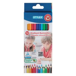 Stylex Buntstifte - lang - 12 Stück