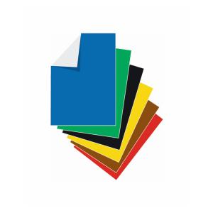 Stylex Buntpapier - DIN A4 - 12 Blatt