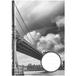 Stylex Kladde - DIN A6 - liniert - 192 Seiten