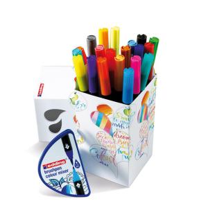 edding 1340 Colour Happy Box - Pinselstift - 20 Farben