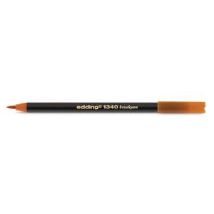 edding 1340 brush pen Pinselmaler - ocker