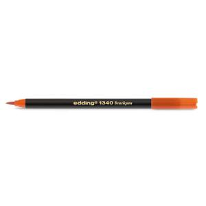 edding 1340 brush pen Pinselmaler - tangerine