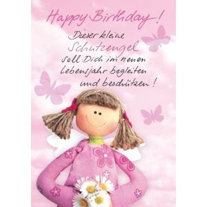 Komma3 Glückwunschkarte Geburtstag