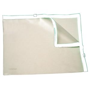 FolderSys Klarsicht-Sammelbeutel A4, 2 Plastik-Zipps PVC...