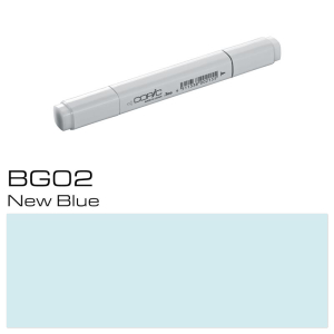 COPIC Classic Marker BG02 - New Blue