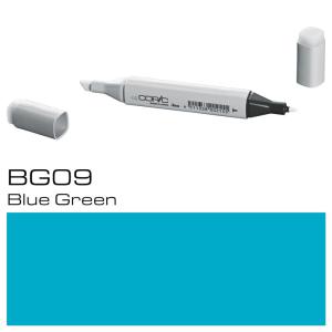 COPIC Classic Marker BG09 - Blue Green