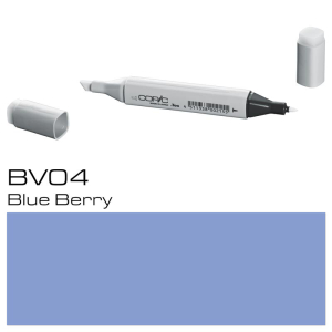 COPIC Classic Marker BV04 - Blue Berry