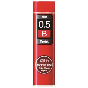 Pentel Hi-Polymer-Mine AIN STEIN 40St 0,5mm/B