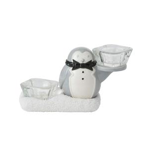 Party Penguin Multi Tea Light Holder
