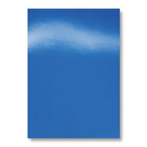 GBC Einbanddeckel Chromo-Karton - HiGloss - blau - 100...