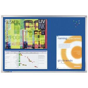 Legamaster Pinboard PROFESSIONAL Textil, 90 x 60 cm, Blau