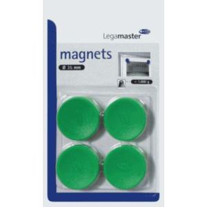 Legamaster Haftmagnet - 35mm - grün - 4 Stück