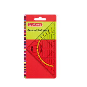 herlitz Geometrie-Dreieck - 14 cm
