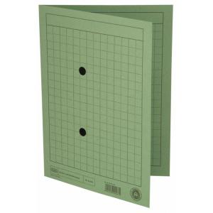 ELBAUmlaufmappe A4 Karton RC grün
