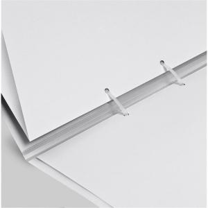 VELOFLEX Strip-Binder - DIN A4 - PP -  transparent - 25...