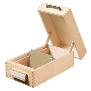 HAN Karteikasten Holz natur, A7 quer, 12,6x25,0x5,4cm,